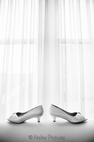 Bridal shoes for a gorgeous wedding day in Portland