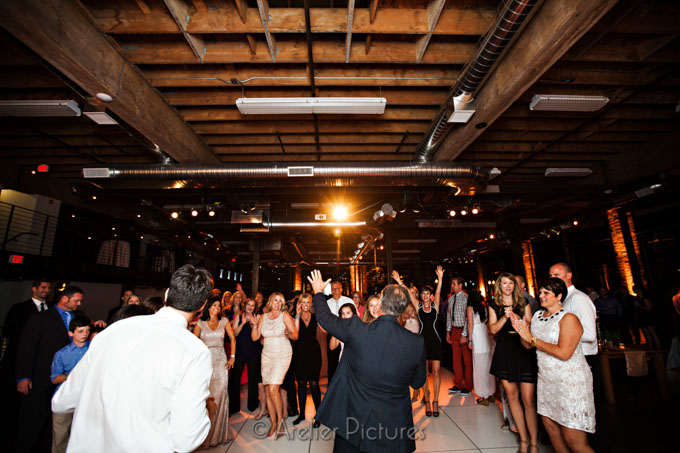 Dancing at LeftBank for the Wedding