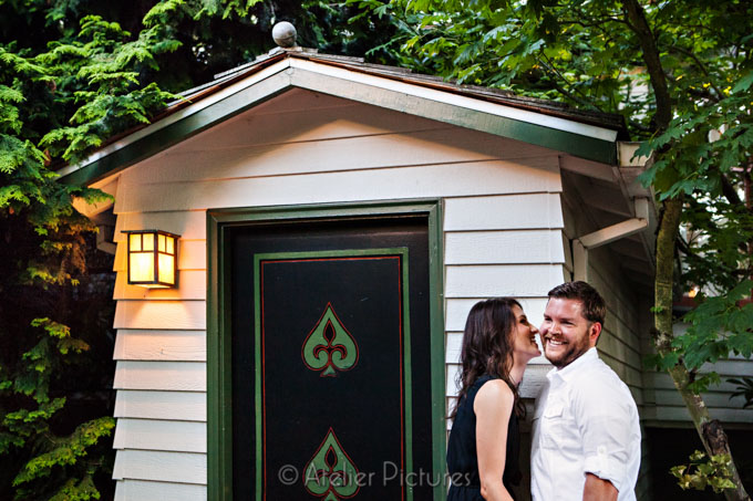 Engagement photography at Edgefield