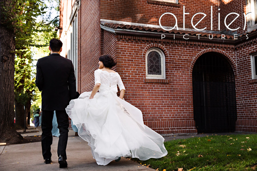 Wedding Photography at St. Mary's Cathedral in Portland