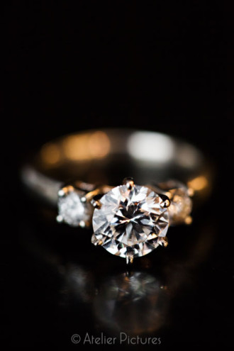 A stunning wedding ring