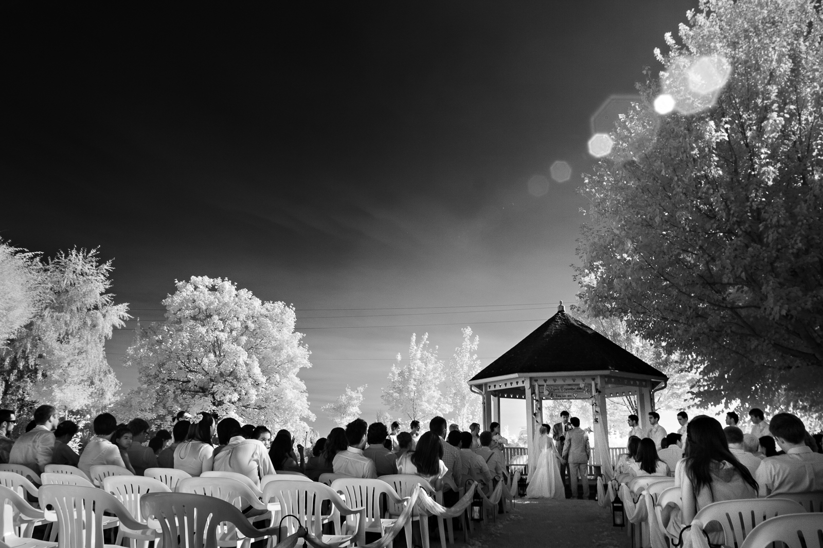 A Wedding Ceremony at Green Villa Gardens
