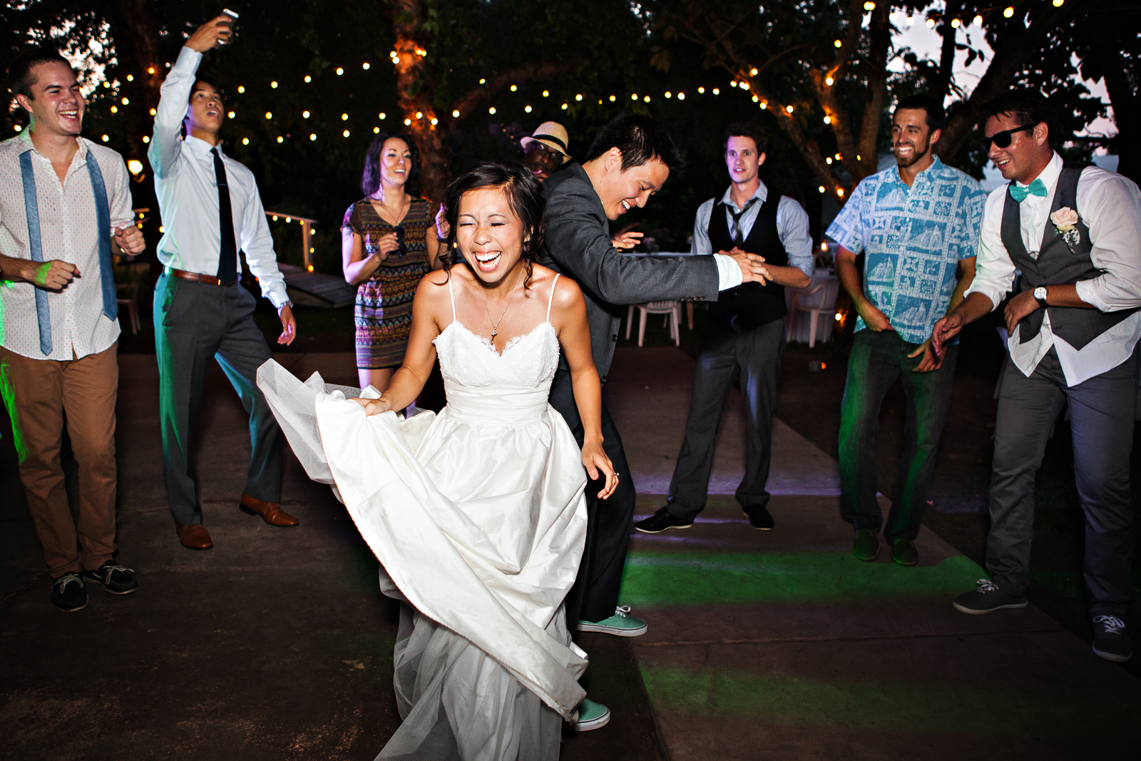 Photo of the Day – You Look Good on the Wedding Reception Dancefloor